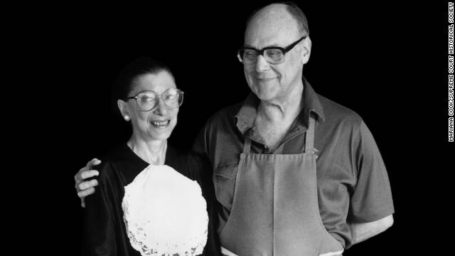 Supreme cuisine: New cookbook honors late husband of Justice Ginsburg
