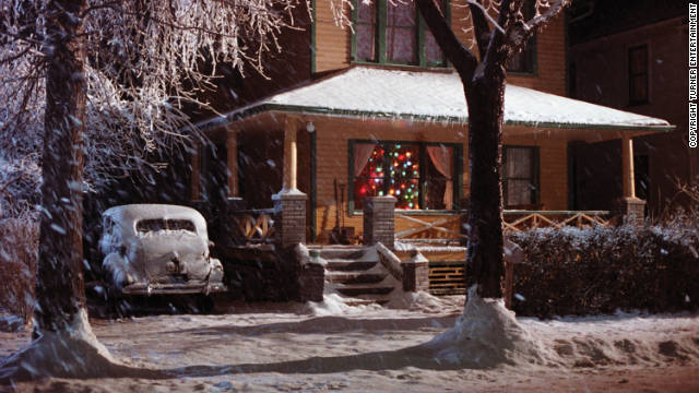 The Parker family's house in 