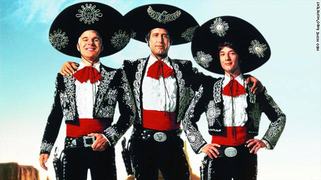 The Throwback: A salute to 'Three Amigos!'