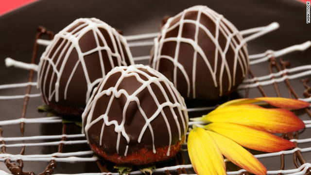 Breakfast buffet: National chocolate-covered anything day