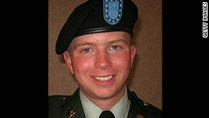 An official military photo of Bradley Manning who is facing 22 charges including aiding the enemy.