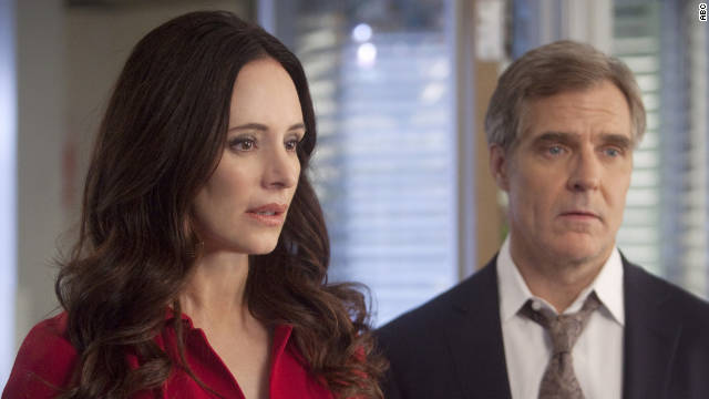 """Madeleine Stowe, """"Revenge""""; Claire Danes, """"Homeland""""; Mireille Enos, """"The Killing""""; Julianna Margulies, """"The Good Wife""""; Callie Thorne, """"Necessary Roughness"""""""