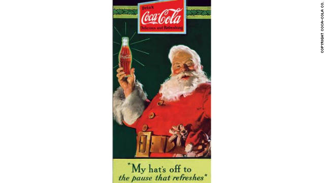 How Coca-Cola helped shape the modern-day Santa