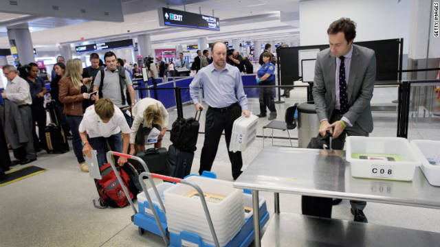 More time and patience will be needed to navigate airports over the holidays.