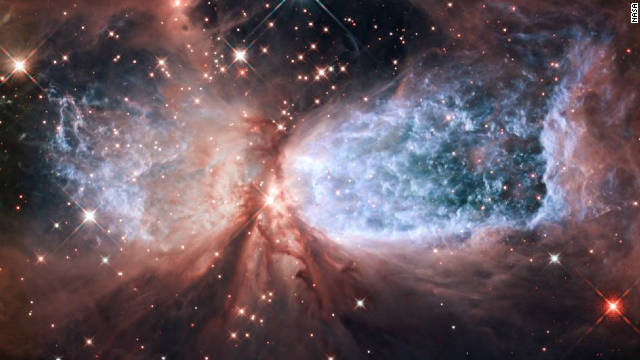 Hubble telescope shows &#039;Snow Angel&#039;