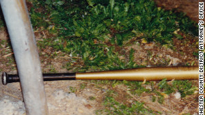Campbell used this baseball bat to strike Richard DiGuglielmo Sr.
