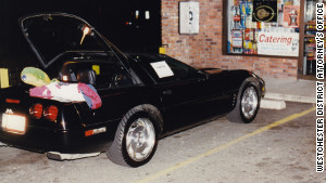 Campbell had parked his Corvette in the DiGugliemo family deli parking lot, which was reserved for customers only.