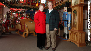 Holly and Tom Valent are the proud owners of the legendary Charles W. Howard Santa Claus School.