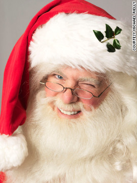 For Michael Rielly, being Santa is a family tradition. His late grandfather, a Santa Claus hall of famer, put on the red suit for 62 years.