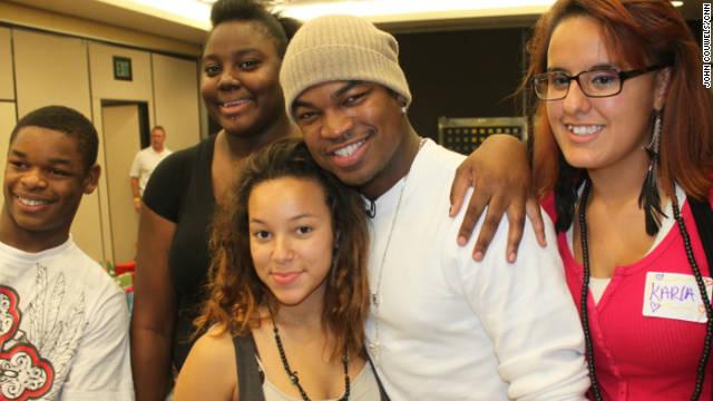 R&B star Shaffer