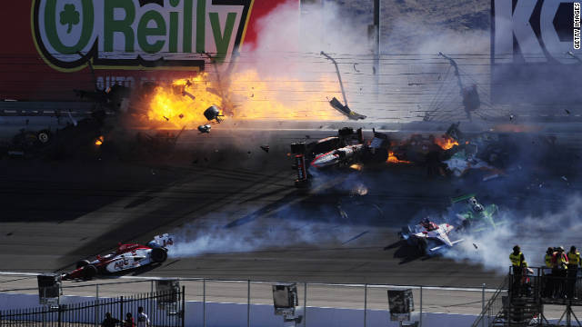 The horrific crash at Las Vegas Motor Speedway on October 16 claimed the life of England's Dan Wheldon