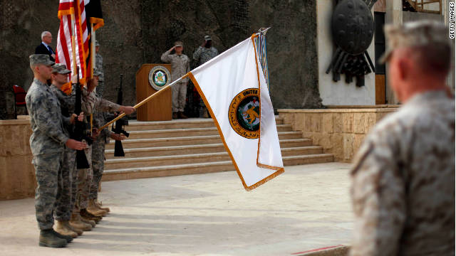 Estados Unidos concluye oficialmente su misión en Iraq