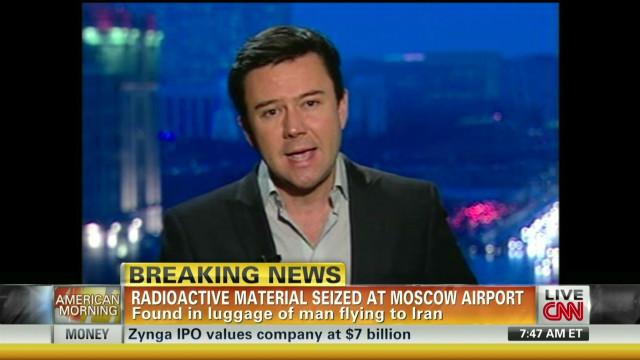 Autoridades rusas incautan material radiactivo en un vuelo con destino a Irán