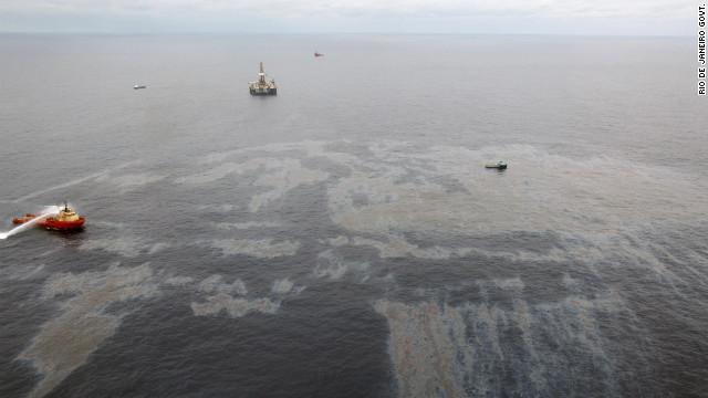 Brasil demanda a Chevron 11 millones de dólares por derrame de crudo