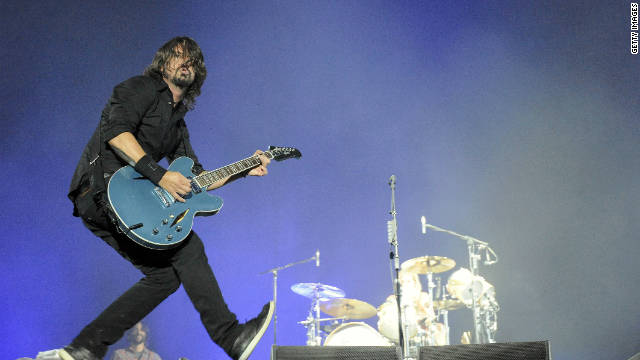 Foo Fighters show was 'literally rocking'
