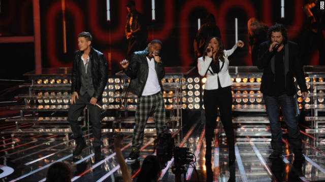 Someone's luck runs out on 'X Factor'