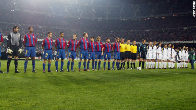 Reigning European Champions League faced Bayer Leverkusen in the second group stage of the 2002/03 competition, emerging victorious from both matches.