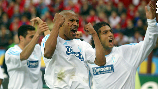 Inter Milan and Marseille last met in the quarterfinals of the 2003/04 UEFA Cup, with the French team triumphing 2-0 on aggregate.
