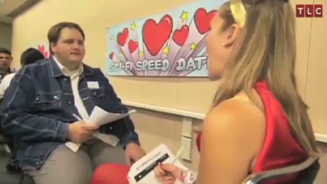 Geek love sci fi speed dating