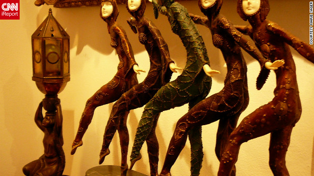This figurine by Dimitri Chiparus entitled &quot;Five Dancers&quot; was expected to fetch between $1,500 - $2,500.