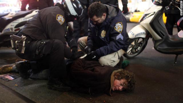 Cincuenta personas arrestadas en manifestación de Occupy Wall Street