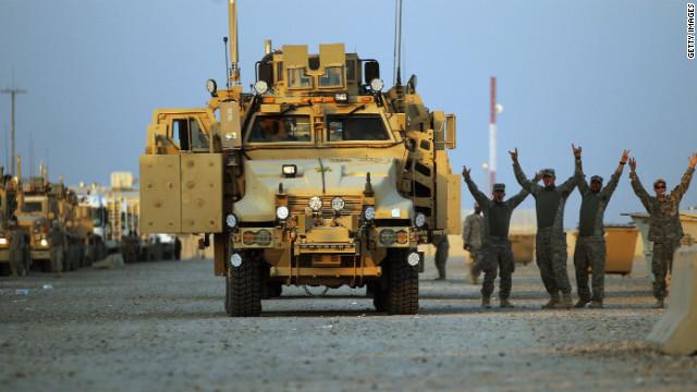 Tropas de Estados Unidos concluyen su retirada de Iraq