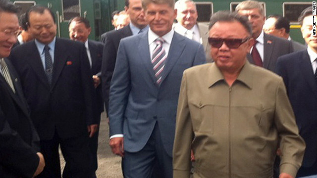 The reclusive North Korean leader Kim Jong Il visits Russia in August. The world has reacted warily to news of Kim's death.