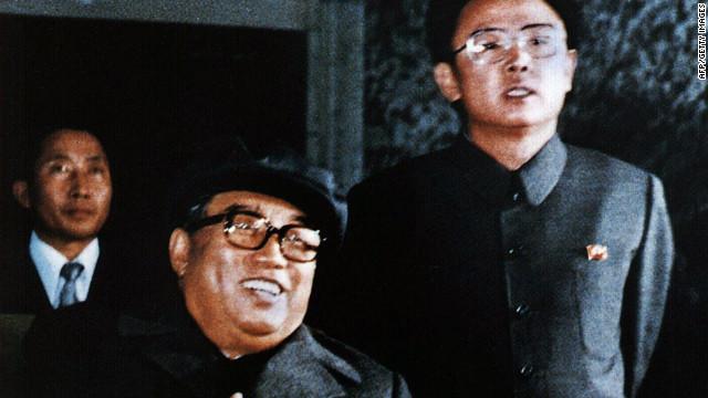 Kim Jong Il y su padre