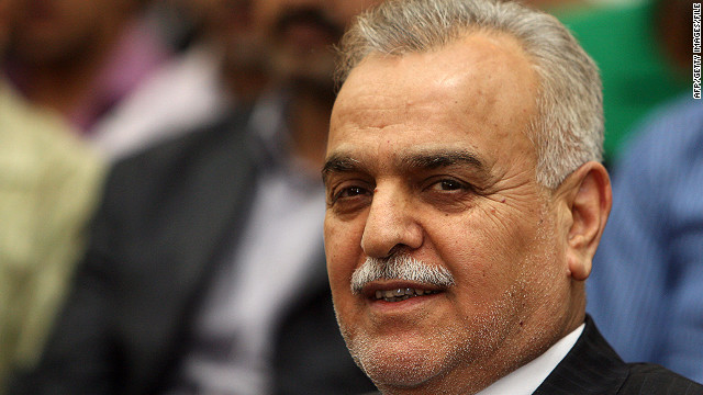 Iraq's Interior Ministry says Vice President Tariq al-Hashimi ordered his security guards to carry out bombings.
