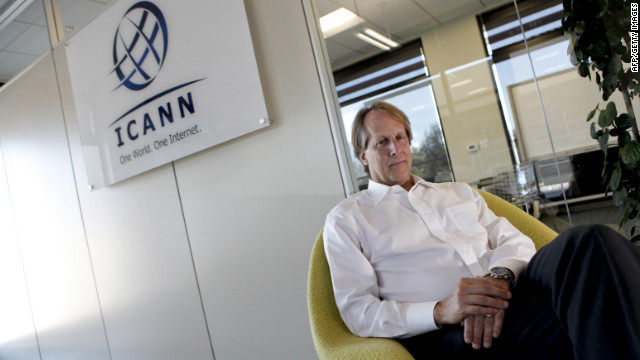 Rod Beckstrom runs ICANN, the leading overseer of the Internet, but he's stepping down next year.