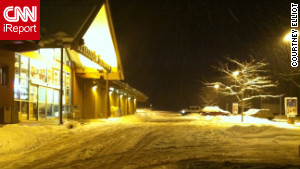 The National Weather Service said winter storm warnings stretched across New Mexico, Colorado and into Kansas.