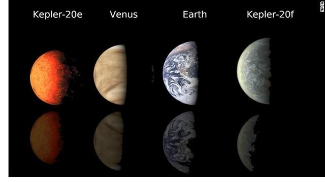 La NASA encuentra dos planetas similares a la Tierra