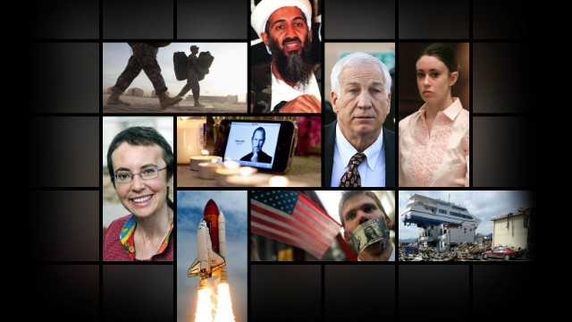 Overheard on CNN.com: Goodbye 2011, hello year-in-review lists