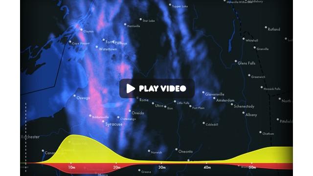 La aplicación Dark Sky predice el clima exacto durante la próxima hora