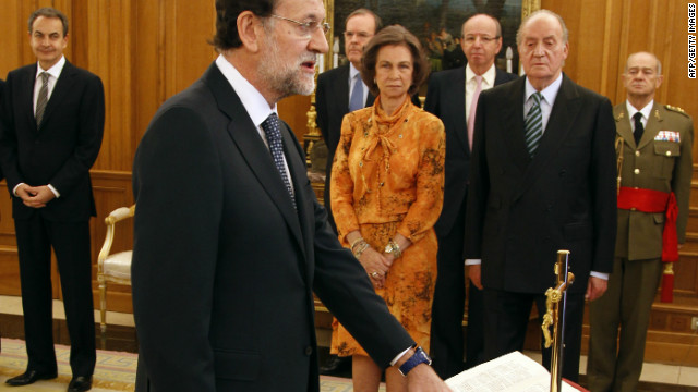 New Spanish Prime Minister Mariano Rajoy has promised tough economic measures to avert deepening economic crisis.