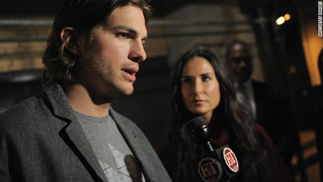 Demi Moore y Ashton Kutcher superan su divorcio con trabajo