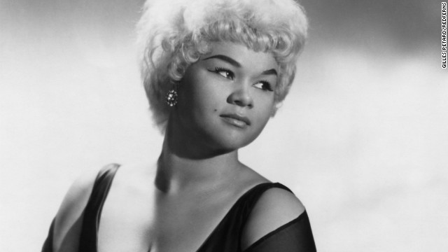 "<a href='http://www.cnn.com/2012/01/20/showbiz/etta-james-obit/index.html' target='_blank'>Etta James</a>, whose assertive, earthy voice lit up such hits as ""The Wallflower,"" ""Something's Got a Hold on Me"" and the wedding favorite ""At Last,"" died on January 20. She was 73."