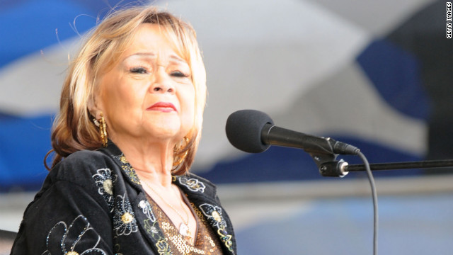 Singing legend Etta James dies at 73
