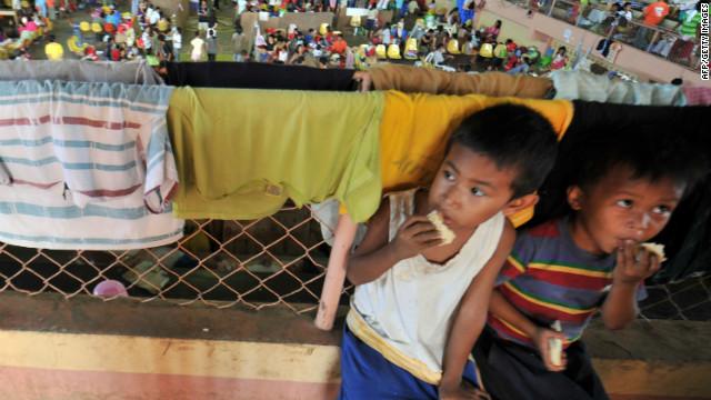 Cerca de medio millón de personas en Filipinas necesitan ayuda