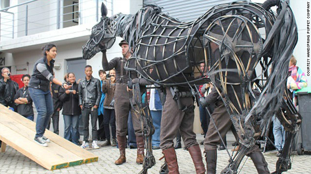 Jones and Kohler are the creators of the astounding life-sized horse puppets that grace the stage in the award-winning play &quot;War Horse.&quot;