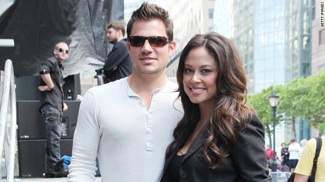 Nick Lachey and wife Vanessa expecting first child