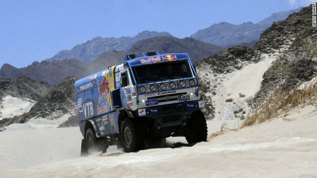 Russia's Vladimir Chagin has been dubbed the &quot;Tsar of the Dakar&quot; for his dominance of the truck category. The 41-year-old's victory in 2011 was his seventh.