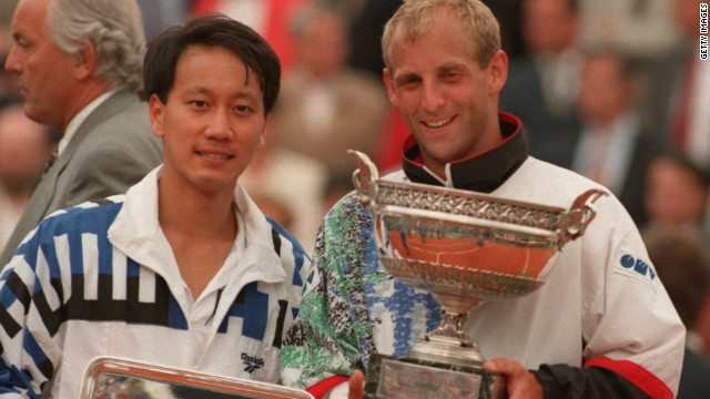 Muster became the first Austrian tennis player to win a grand slam title when he beat former champion Michael Chang of the U.S. in the final of the 1995 French Open, and briefly topped the world rankings the following year.