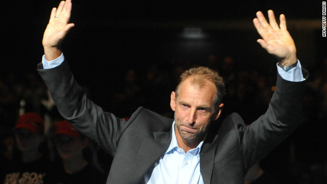 Thomas Muster finally retired at the age of 44 after losing in the first round of his home event in Vienna in October 2011.