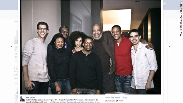 'Fresh Prince' cast reunites at charity event