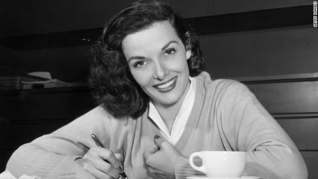 "Jane Russell, a voluptuous star of the 1940s and 1950s, died February 28 of respiratory difficulties. She was 89. Russell was best known for her role in ""Gentlemen Prefer Blondes"" alongside Marilyn Monroe. <a href='http://articles.cnn.com/2011-02-28/entertainment/russell.obit_1_silver-screen-film-appearance?_s=PM:SHOWBIZ'>Full story</a>"