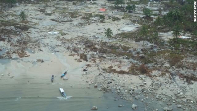 Una niña que desapareció en el tsunami de 2004, se reunió con su familia