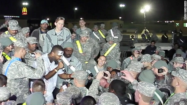 Tech N9ne on performing for U.S. troops during Iraq withdrawal
