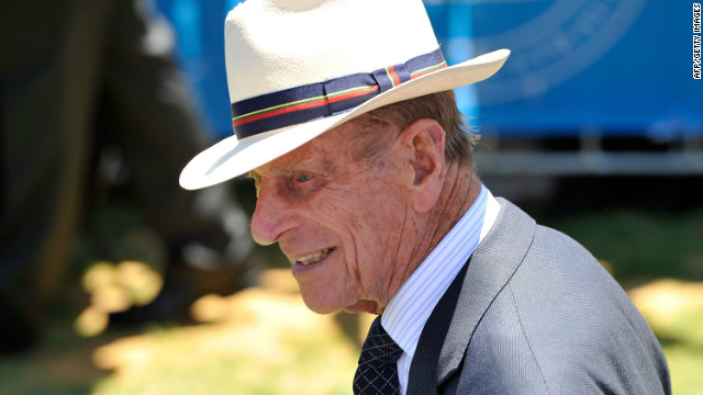 A palace spokesman said Prince Philip would gradually
