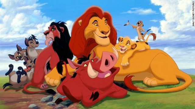 &quot;The Lion King&quot; was re-released in 3-D after originally bowing in theaters in 1994.